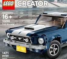 A 1967 Ford Mustang Fastback Is the Latest to Be Immortalized in Legos