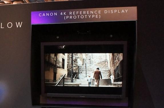 Canon shows off prototype 30-inch 4K reference display, won't put a price tag on love