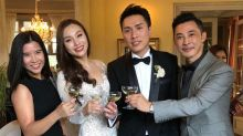 Oceane Zhu has tied the knot in Europe