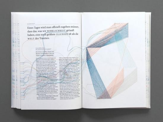 Hand-sewn, hyperlinked book is a thing of beauty, and a joy for several minutes