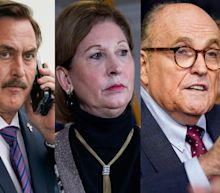 A judge expressed skepticism about arguments from Mike Lindell, Sidney Powell, and Rudy Giuliani, who want Dominion's defamation lawsuits against them dismissed