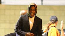 A$AP Rocky Returns to U.S. with a Bright Smile After Release from Swedish Jail as Verdict Looms
