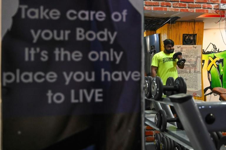 The authorities have been cracking down on the gyms (AFP Photo/Sajjad HUSSAIN)