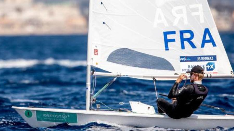 JO - Voile - Laser (H) - Jean-Baptiste Bernaz sixième en Laser après huit manches aux JO de Tokyo