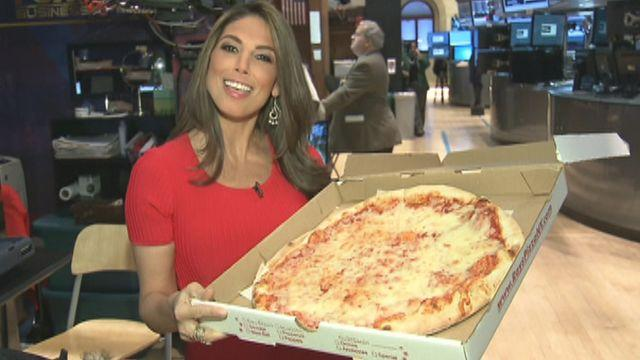 Pizza party on Wall Street!