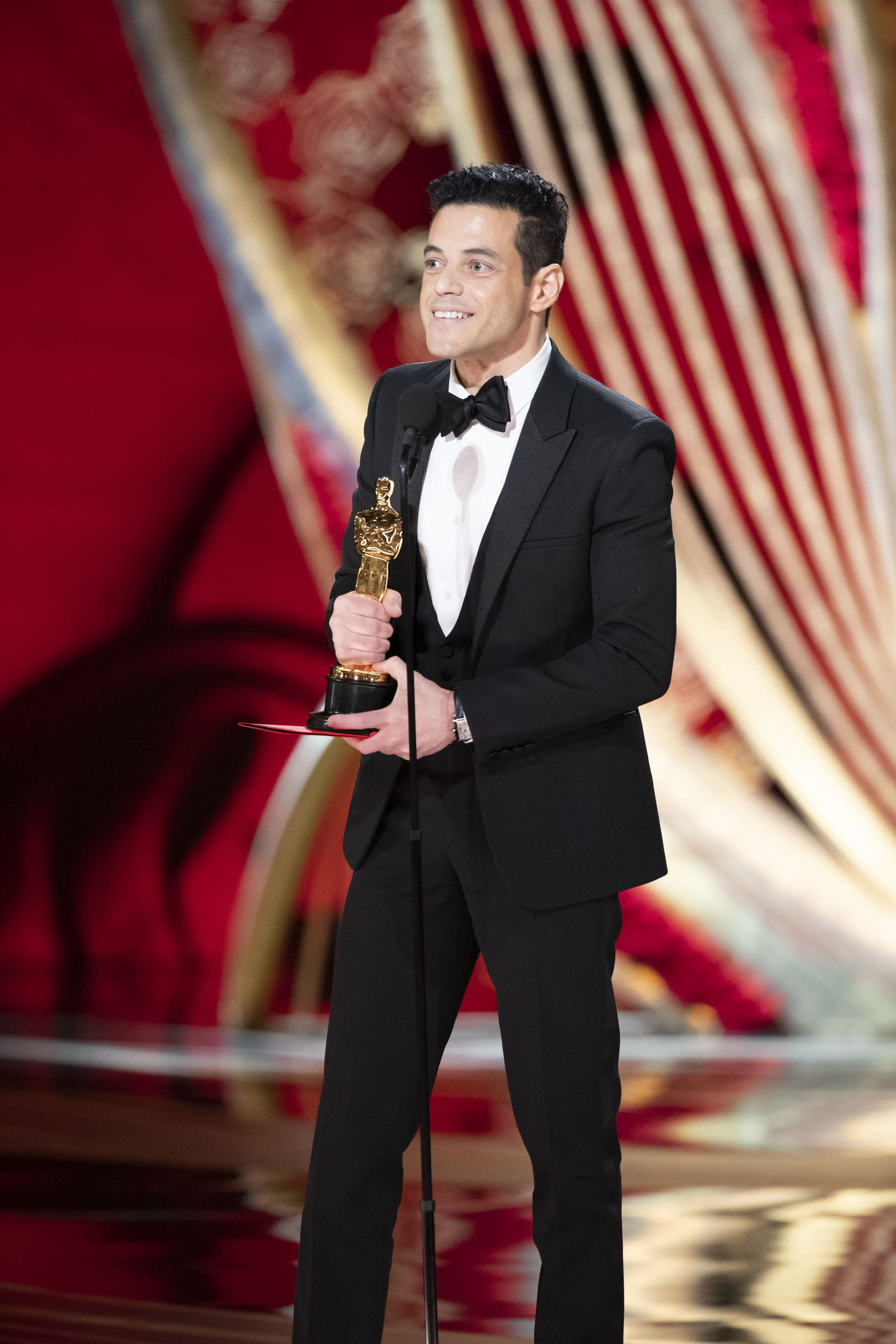 THE OSCARS® - The 91st Oscars® broadcasts live on Sunday, Feb. 24, 2019, at the Dolby Theatre® at Hollywood & Highland Center® in Hollywood and will be televised live on The ABC Television Network at 8:00 p.m. EST/5:00 p.m. PST.  (Craig Sjodin via Getty Images) RAMI MALEK