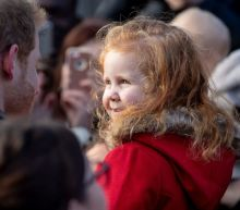 'Gingers unite!': Prince Harry bonds with 4-year-old redhead