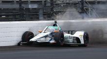 Fernando Alonso choca en la práctica de Indy 500