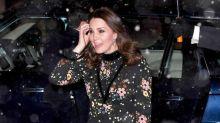 Kate Middleton desafía la nieve en Londres