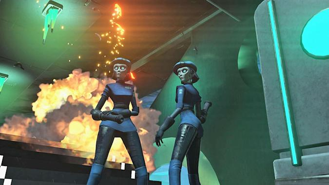 Pilot a disembodied head on July 26th with 'Headlander'