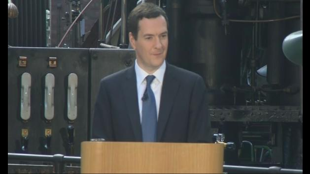 George Osborne announces plans for HS2 in the north