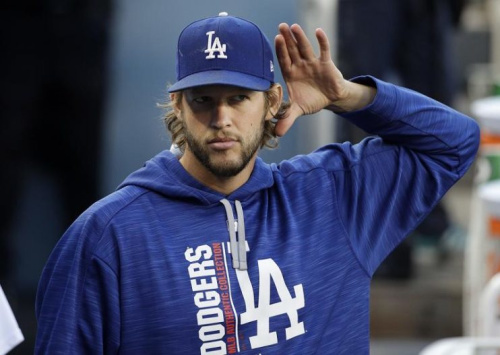 Clayton Kershaw heard you loud and clear, Mr. Johnson. (AP)