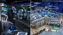 New 'Avatar 2' images show James Cameron at work on huge practical sets