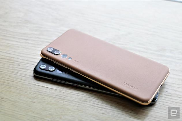 Huawei's new P20 Pro color options add some sophistication