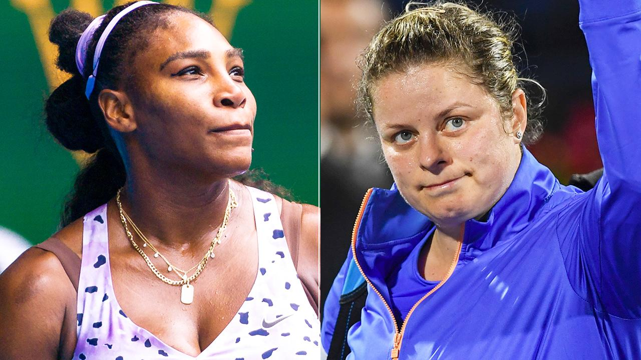 Serena Williams sends message to Kim Clijsters after 'phenomenal' return