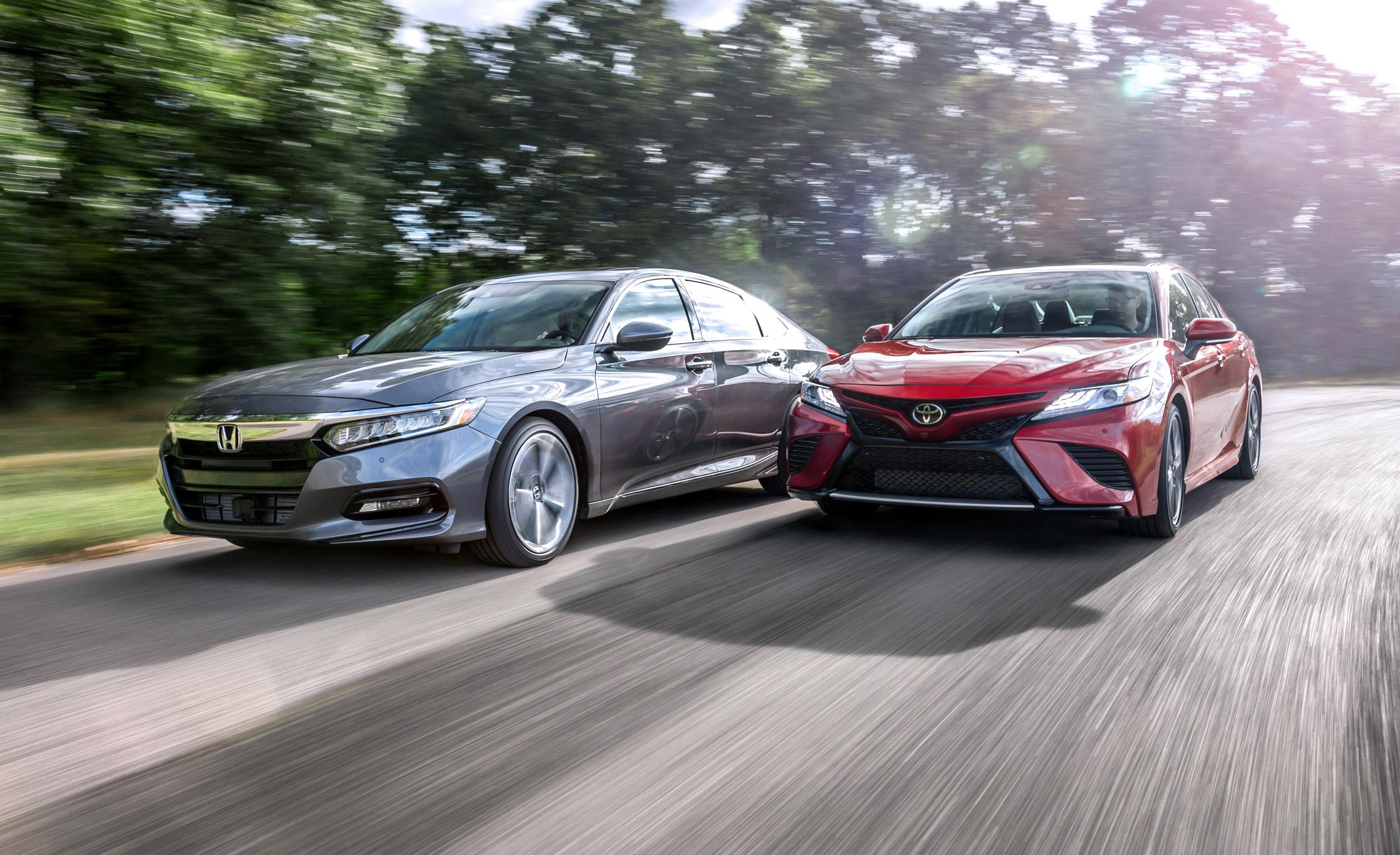 The State Of Accord And Camry All New At The Same Time