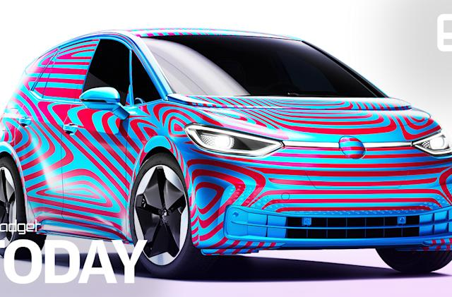 VW starts taking deposits for its ID.3 electric hatchback