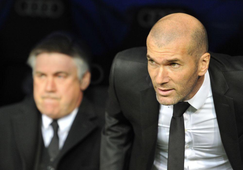 """Real Madrid, Ancelotti : """"J'ai toujours dit que Zidane avait des qualités pour être un grand entraîneur"""""""