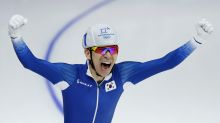Lee wins South Korea's only Olympic gold in speedskating