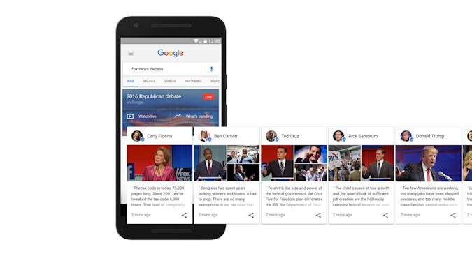 Google helps you hear directly from presidential candidates