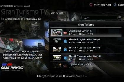 GT5 Prologue update hits on Friday