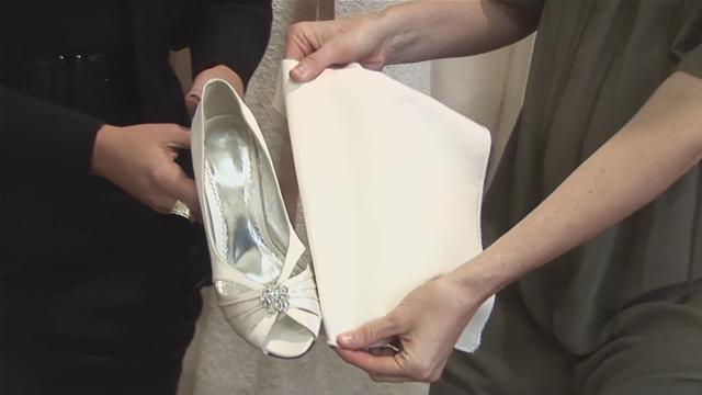 How To Buy White Wedding Shoes