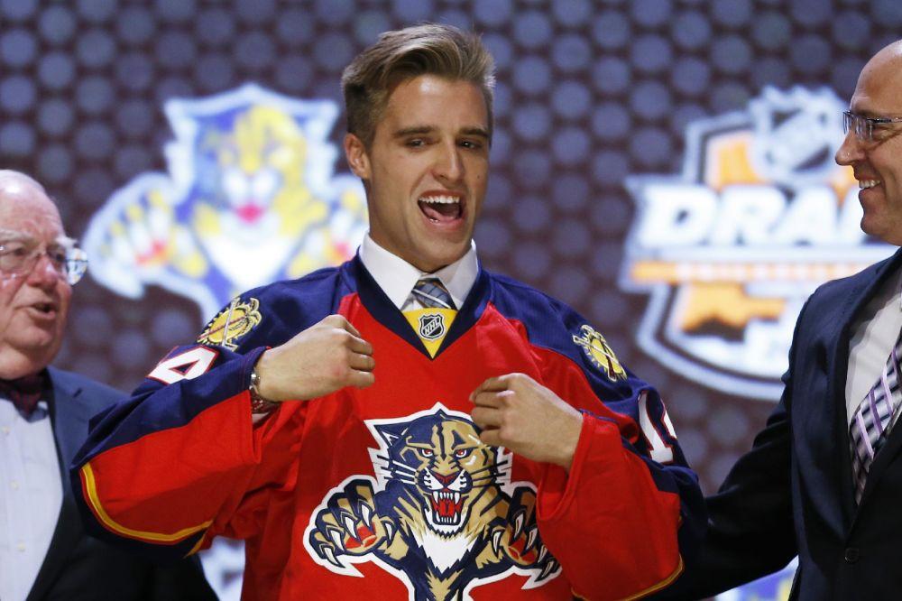 Panthers take Ekblad with No. 1 pick in NHL draft