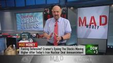 Cramer: Trump's Iran deal announcement showed just how 's...
