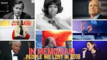 Year in Review 2018: In Memoriam