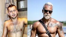Homem 'envelhece' 20 anos para se tornar vovô sarado