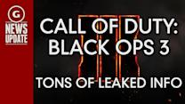 GS News Update: Tons of Call of Duty: Black Ops 3 Details Leaked