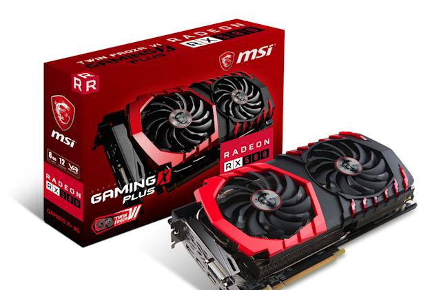 AMD's mid-range Radeon 500-series video cards are here
