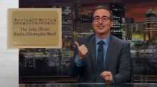 John Oliver has a koala chlamydia ward named after him thanks to Russell Crowe