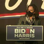 Kamala Harris slams Trump for mask-less rallies