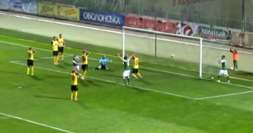 Foot - WTF - Un but contre son camp scandaleux en D2 ukrainienne
