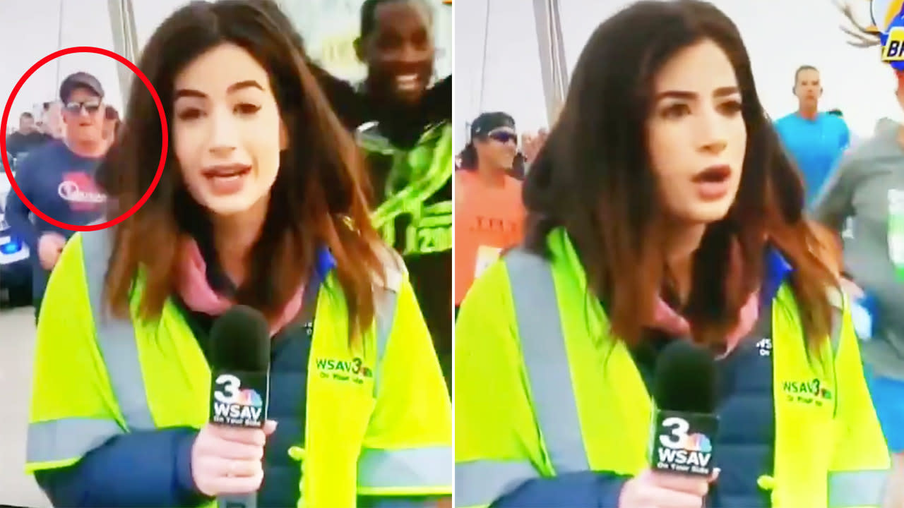 'Violated and objectified': Runner arrested over disgusting act during live TV broadcast