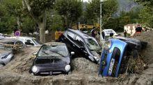 A Breil-sur-Roya, recouverte de boue, les habitants appellent à l'aide
