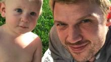 Nick Carter Shares '#FamilyMan' Selfies With Son Odin Amid Drama With Brother Aaron