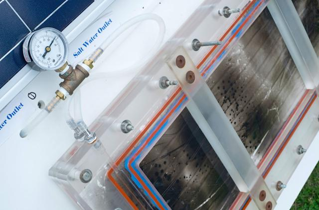 Researchers can now desalinate seawater with the power of the Sun