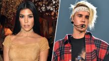 Kourtney Kardashian Parties with Justin Bieber During Miami Vacation with Her Kids