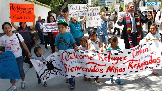 Poll: Immigration Concerns Rise With Tide Of Kids