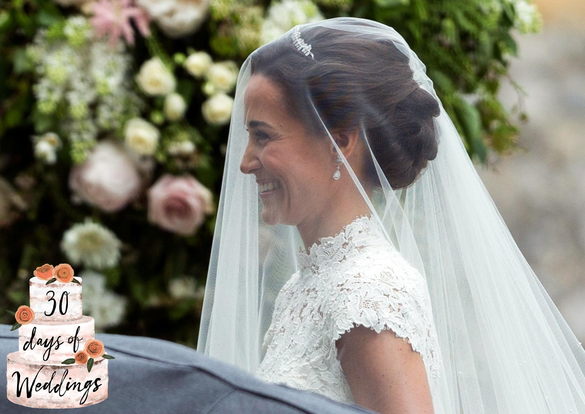 Celebrity Veil-Friendly Hairstyles To Recreate For Your