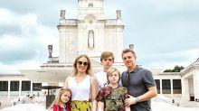 Após acidente de Benício, Angélica e Huck viajam a Fátima, em Portugal: 'Dia de agradecer'