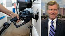 VA governor's proposal to eliminate gas tax