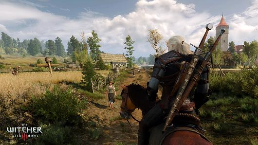 On track with the first three hours of The Witcher 3: Wild Hunt