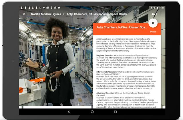 NASA highlights women in STEM with a virtual field trip