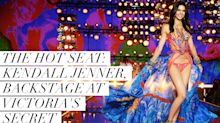 The Hot Seat:Kendall Jenner, Backstage at the Victoria's Secret Fashion Show