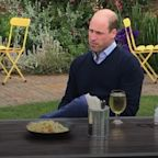 William savours pint of cider ahead of pubs and restaurants reopening
