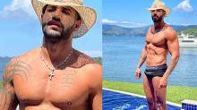 """Gusttavo Lima aquece a web de cueca molhada: """"Sem miséria"""""""
