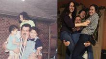 Esto es lo que pasa cuando decides recrear una foto de tu infancia